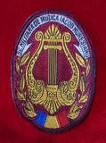 Emblema Scoala Militara de muzica Iacob Muresianu, Patch ecuson armata