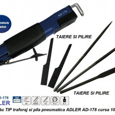 Cumpara ieftin Ferăstrău TIP traforaj si pila pneumatica ADLER AD-178 cursa 10mm