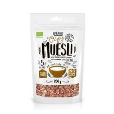 Musli Bio cu Cacao Nibs Diet Food 200gr Cod: 5906660508946