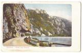 3760 - ORSOVA, Danube Kazan, Romania - old postcard - used - 1908