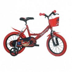 Bicicleta copii 14'' MIRACULOS-BUBURUZA PlayLearn Toys
