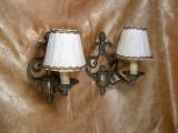 Set aplice bronz stil Napoleon 3, Franta, antique
