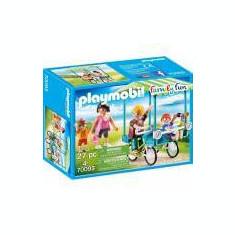 Playmobil Family Fun - Bicicleta de familie