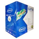 CABLU FTP CAT5E CUPRU 24AWG 0.52MM 305M EMTEX EuroGoods Quality