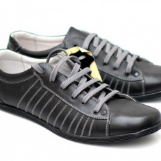 Pantofi barbati sport - casual din piele naturala - Made in Romania