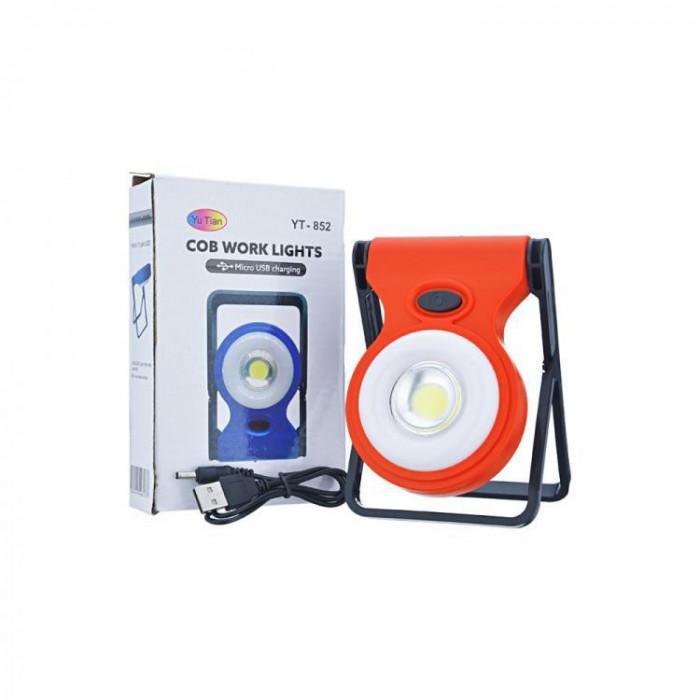 Lanterna cu led si power bank yt-852