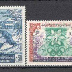 Algeria.1967 Olimpiada de iarna GRENOBLE  SX.164