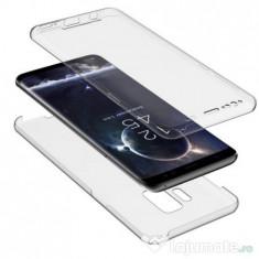 Husa Invizible 360 de grade (fata-spate) pentru Samsung Galaxy S6 Edge ,Silicon
