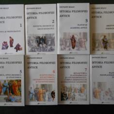 GIOVANNI REALE - ISTORIA FILOSOFIEI ANTICE 8 volume, seria integrala, impecabila