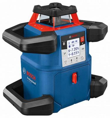 Bosch GRL 600 CHV + LR 60 + RC 6 Nivela laser rotativa orizontal/vertical (600 m) + Receptor si telecomanda foto