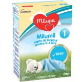Lapte praf de inceput Milupa Milumil 1, 600g
