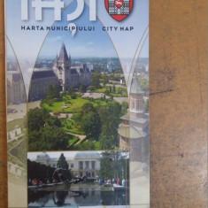 Harta Municipiului Iași