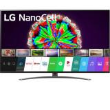 Televizor LED LG 65NANO813NA, 164 cm, Smart TV 4K Ultra HD, Clasa G