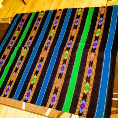 COVOR / CUVERTURA / PLED din lana , AVRIG , SIBIU 160/205 cm