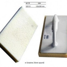 Gletiera burete 120x260mm, grosime spuma 25mm, TopStrong