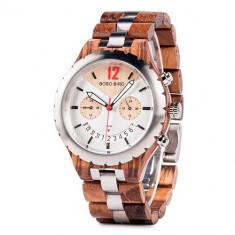 Ceas din lemn Bobo Bird Q28-2 Wooden Lux