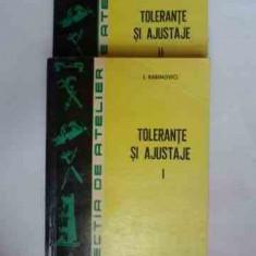 Tolerante Ai Ajustaje Vol. 1-2 - I. Rabinovici ,531016