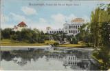 Carte poștală București Vedere din Parcul Regele Carol I