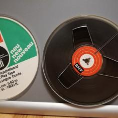 Banda Magnetofon  BASF - diametru rola 18 cm  - stare Foarte Buna/RFG
