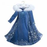 Rochie rochita Elsa cu blanita NOUA pentru 3,4,5 ani, 4-5 ani, Indigo