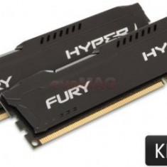 Memorii Kingston HyperX Fury Black Series DDR3, 2x8GB, 1600 MHz