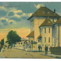 720 - CRAIOVA, Madona DUDU school, Romania - old postcard - used - 1914