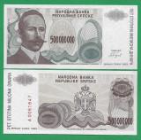 = BOSNIA – 500 000 000 DINARA - 1993 -  UNC   =