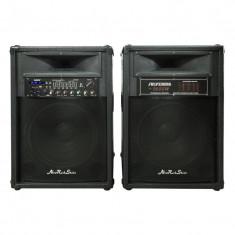 Boxe active cu amplificator si mixer DS-2035, USB