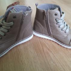 Pantofi Ghete pentru baieti, 31, Bej, Lee Cooper