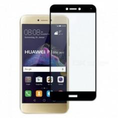 Folie protectie display sticla 5D Full Glue Huawei P8 Lite (2017) / P9 Lite (2017) BLACK