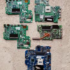 Lot 5 placi de baza cu DDR3 - pentru laptop - pentru  piese -