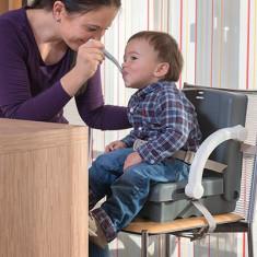 Inaltator scaun de masa portabil grey KidsKit