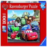 Puzzle Cars cursa de masini, 100 piese Ravensburger