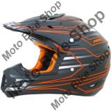 MBS Casca motocross AFX FX17 Mainline, L, negru/portocaliu, Cod Produs: 01104437PE