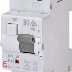 Siguranta automata RCBO ETI KZS-2M A B10/10mA