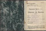 Carnetul ofiterului de rezerva perioada monarhista veteran decorat primul razboi