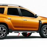 Ornamente inox cromate prag dedicate Dacia Duster II 2018-2021