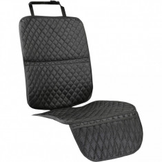 Protectie scaun auto Tuloko, 115 x 34 cm, Negru