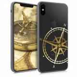 Husa pentru Apple iPhone XS Max, Silicon, Gold, 45911.07
