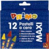 Creioane cerate Morocolor Maxi, 12 culori/ cutie