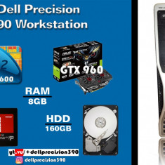 Dell Precision390 intel Core2Quad Q6600+Asus GTX960 2gb