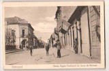 SV * Petroseni * STRADA REGELE FERDINAND Cu CASA DE PASTRARE * 1917 / 1918, Petrosani, Necirculata, Printata