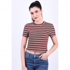 Bluza Vascoza Only Nella Cropped Ginger Bread
