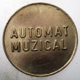 1.566 ROMANIA JETON MCI AUTOMAT MUZICAL TONOMAT 25mm