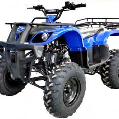 "ATV KXD 125cc 4timpi - 006D roti de 10"" culoare albstru Cod Produs: MX_NEW 1092B"