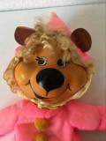Ursulet / Urs Mattel 1972 vintage, vechi, jucarie plus 25 cm, colectie