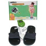 Papuci reflexoterapie pentru masaj cu electrostimulare, Oem