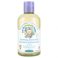Sampon si gel de dus musetel, Earth Friendly Baby 250 ml