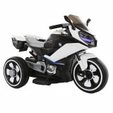 Motocicleta electrica pentru copii Cairo White