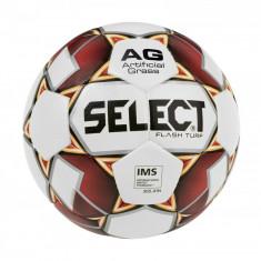 FB Flash Turf soccer ball alb-rosu n. 5